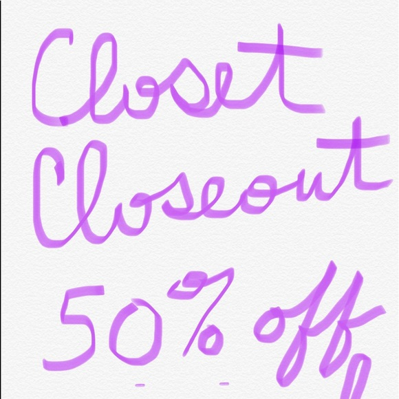 Accessories - Closet closeout!! Everything must GO!! 50% OFF